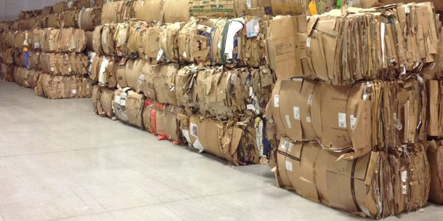 Утилизация бумаги и упаковки
